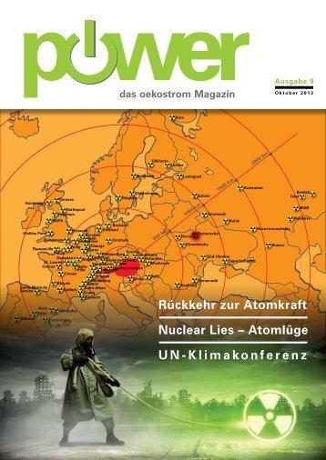 Magazin zum Download - oekostrom AG