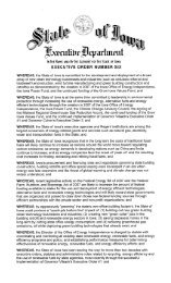 State of Iowa Energy Sector Attachments - Iowa Workforce ...