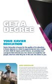 Download the Viewbook to see more - Xavier University - Page 6