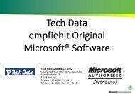 TechData Webcast Windows 8.1 mit Startbutton - TechData-Channel