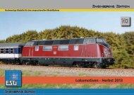 Lokomotiven - Herbst 2013 - ESU