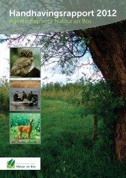 Handhavingsrapport 2012 - Agentschap voor Natuur en Bos