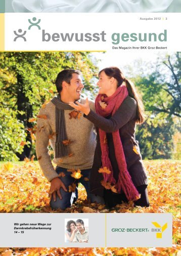 Diese Ausgabe herunterladen - BKK Groz-Beckert
