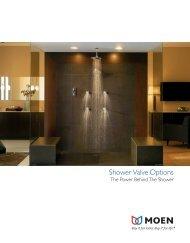 Shower Valve Options - Faucet Warehouse