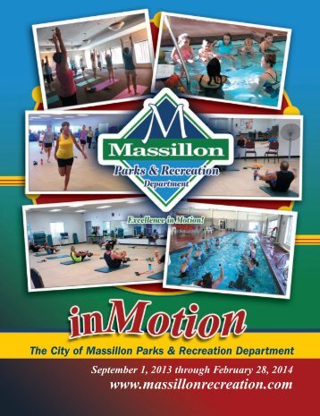 2013-14 Fall/Winter - The City of Massillon Parks & Recreation