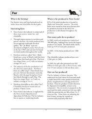 How are furs produce - Government of Nova Scotia