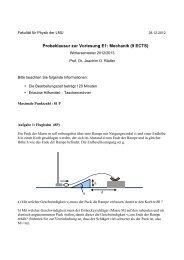 9ECTS - Fakultät für Physik