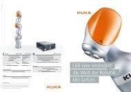 LBR iiwa verändert die Welt der Robotik. Mit Gefühl. - Kuka Robotics