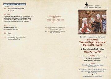 Invitation - Buchmann Law Faculty