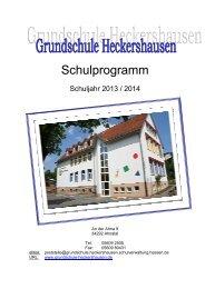 Schulprogramm - Grundschule Heckershausen