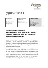 PRESSEMAPPE   Teil C - abc Nailstore Austria