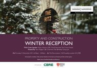 WINTER RECEPTION - London Chamber of Commerce and Industry