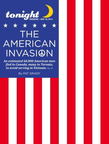 THE AMERICAN INVASION - tonight Newspaper