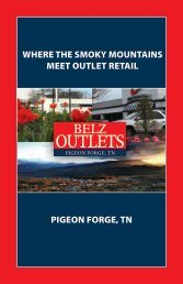 where the smoky mountains meet outlet retail pigeon forge, tn