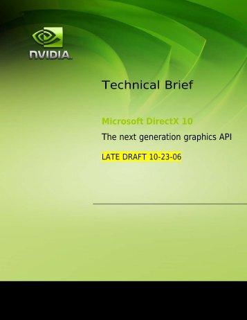 Technical Brief - HardwareHeaven.com