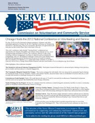 Chicago Hosts the 2012 National Conference on ... - State of Illinois