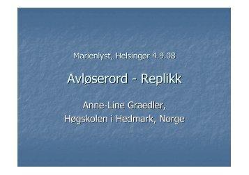 Anne-Line Graedler
