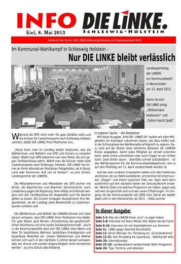 Die Kreise - DIE LINKE. Schleswig Holstein