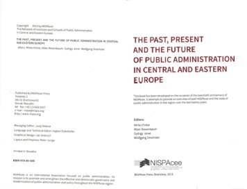 Public Administration Reform in Central and Eastern Europe and ...