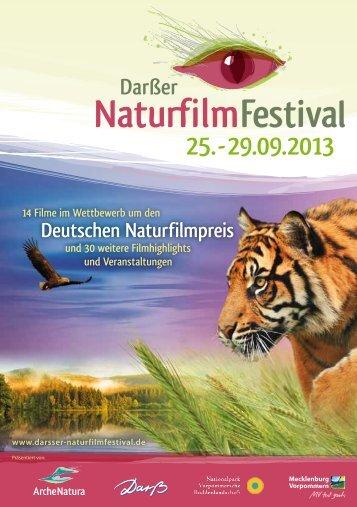 Programmheft 2013 - Darßer NaturfilmFestival