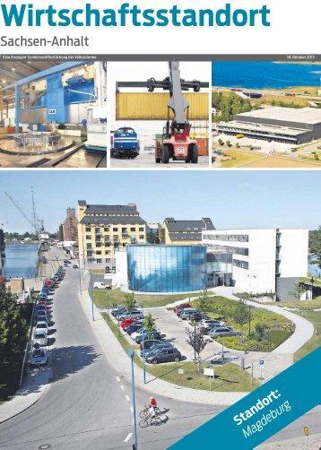 Wirtschaftsstandort Magdeburg - Volksstimme
