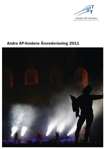 Årsredovisning 2011 - Andra AP-fonden