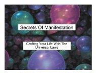 The Secrets Of Manifestation.pdf - Al's World View