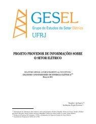 Grandes Consumidores - Nuca - UFRJ