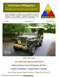 Current Newsletter - MVPA Finger Lakes