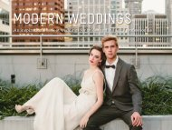 An inspirational look at weddings for brides and industry professionals