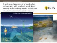 A review and assessment of monitoring technologies ... - UK-IMON