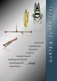 Katalog Gurte und Zurrmittel - Lamm Seile GmbH