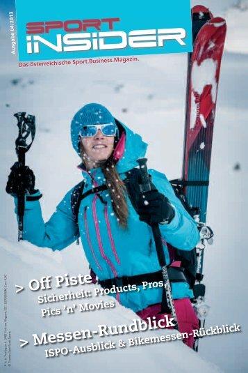 SportINSIDER 4/2013 PDF - Freizeitalpin