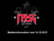 Präsentation Medienorientierung - IT St.Gallen rockt!