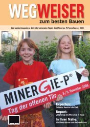 Wegweiser zum besten Bauen 2008 (PDF 0.3mb) - Honegger ...