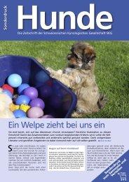 Sonderdruck: Ein Welpe zieht bei uns ein - Verein Pro Junghund