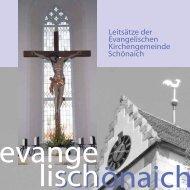 Leitsätze als PDF - Schönaicher Kirchen