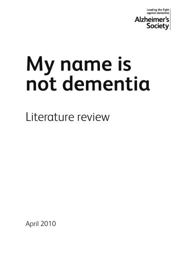 The literature review is available here - CARDI