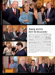Verabschiedung Ministerpräsident Roland Koch - TOP Magazin ...