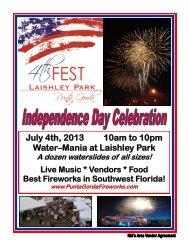 2013 4th Fest Kids Area Contract - 4th Fest, Laishley Park, Punta ...