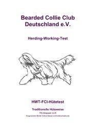 Bearded Collie Club Deutschland eV Herding-Working-Test ... - BCCD