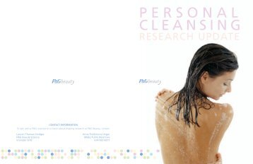 Personal Cleansing - P&G Beauty & Grooming