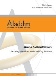 Strong Authentication: - ASKON INTERNATIONAL sro