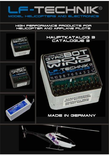 HAUPTKATALOG 3 CATALOGUE 3 MADE IN GERMANY