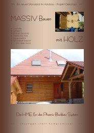 MASSIV Bauen mit HOLZ - Projekt Oekotop