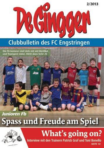 Gingger 2/2013 - FC Engstringen