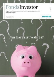 FondsInvestor, Ausgabe 02/2013 - Financial Services