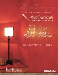 old world elegance - Variance Specialty Finishes