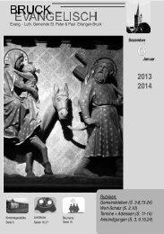 Gemeindebrief 2013, Nr. 6 - Evang.-Luth. Kirchengemeinde St ...
