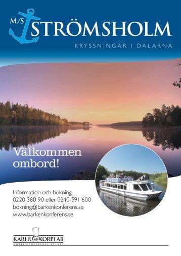 Välkommen ombord! - Strömsholms kanal
